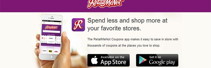 RetailMeNot Mobile Couponing App